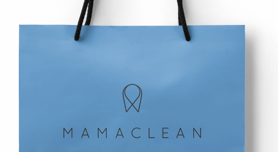Mamaclean shopping bag